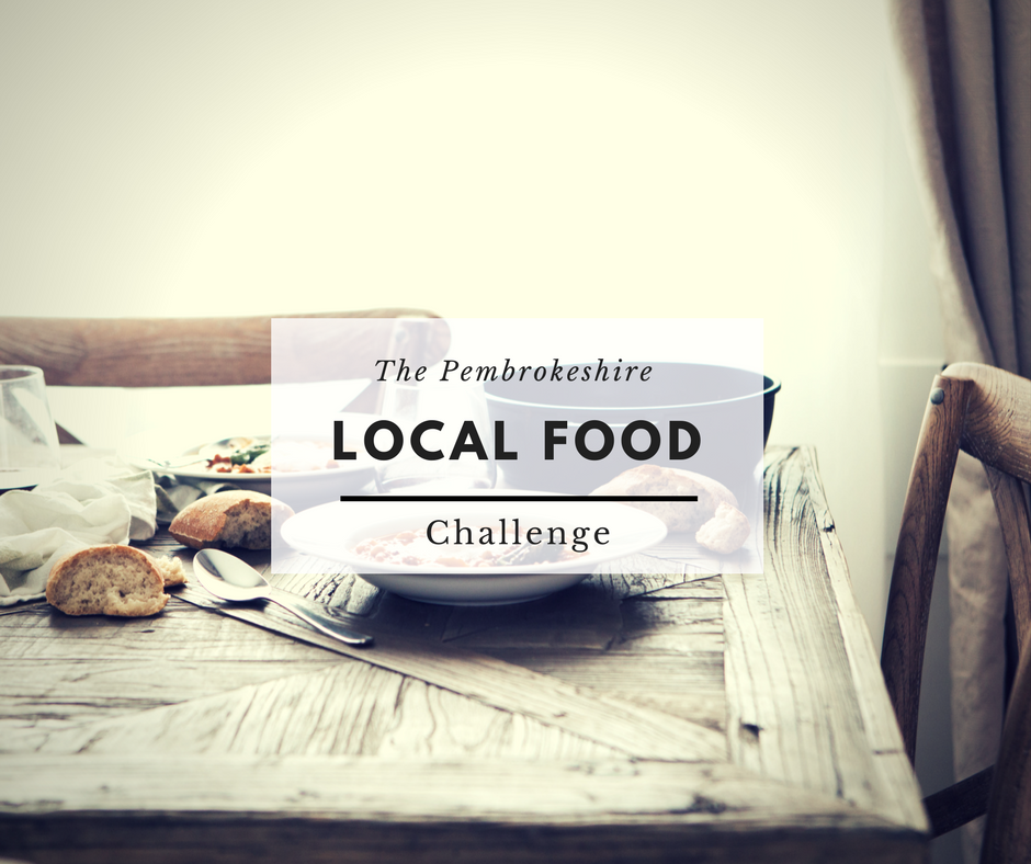 Are you ready for the Pembrokeshire Food Challenge?
