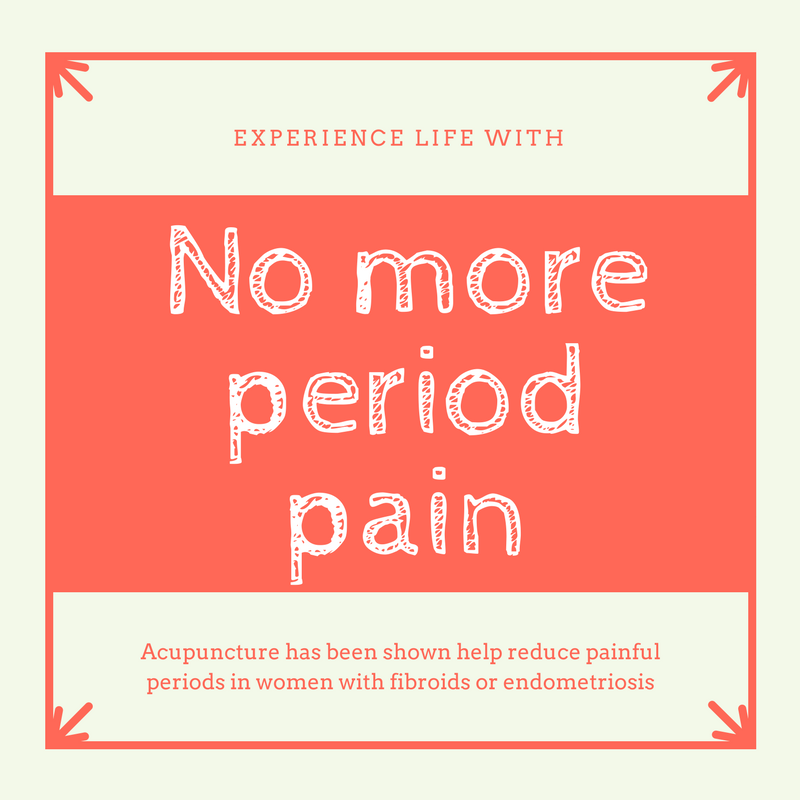 Experience life without period pain