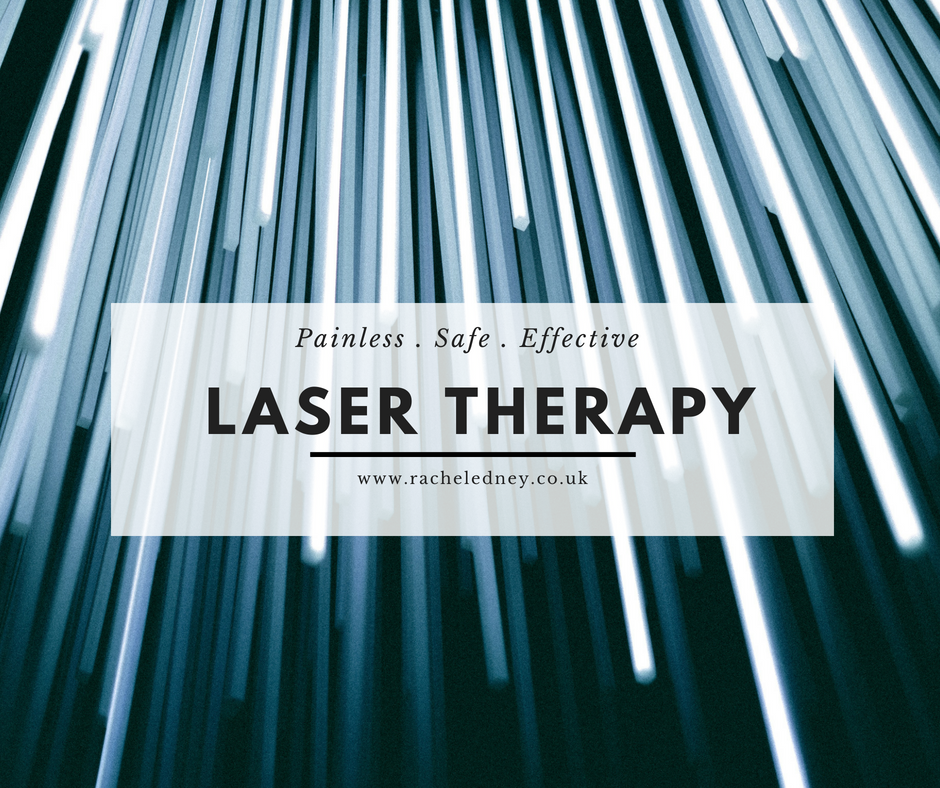 Fed up with chronic pain? Laser therapy is painless, safe and effective