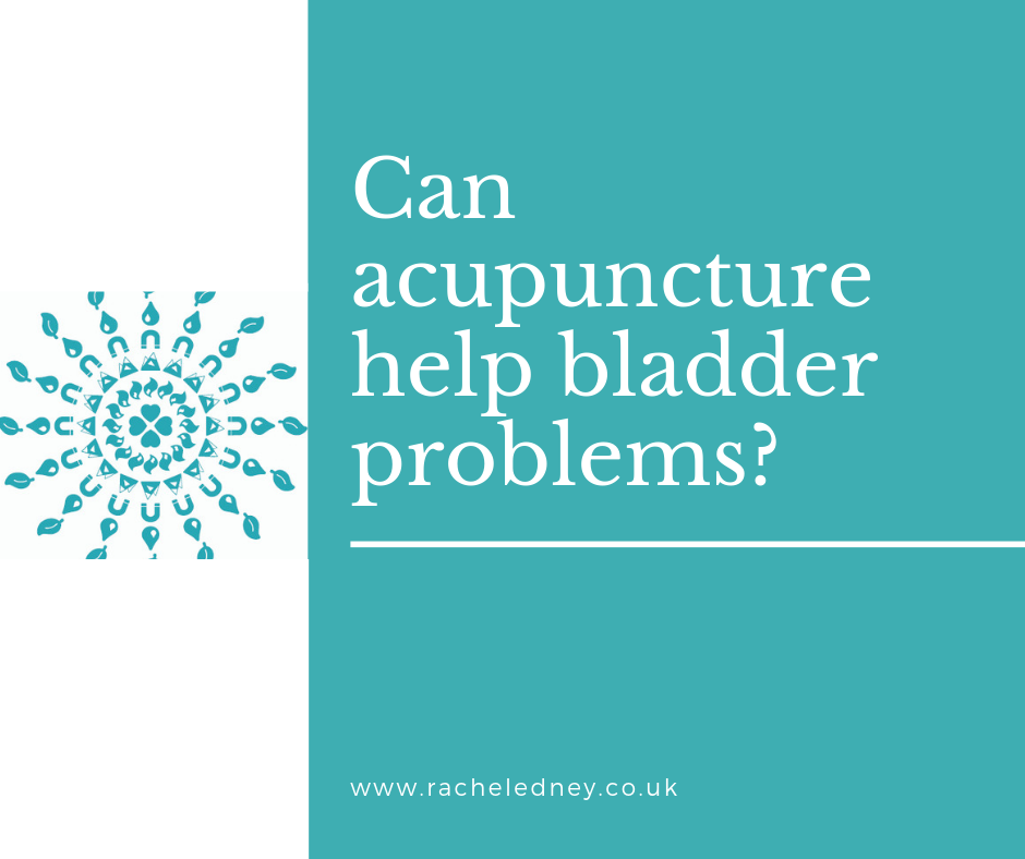 Can acupuncture help bladder problems?