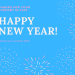 Happy New Year from Rachel Edney Acupuncture, Pembrokeshire